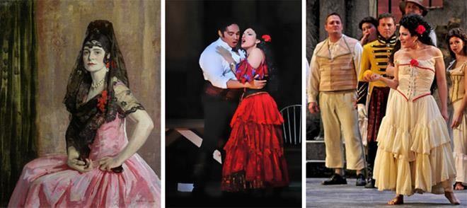 История традиционного испанского костюма