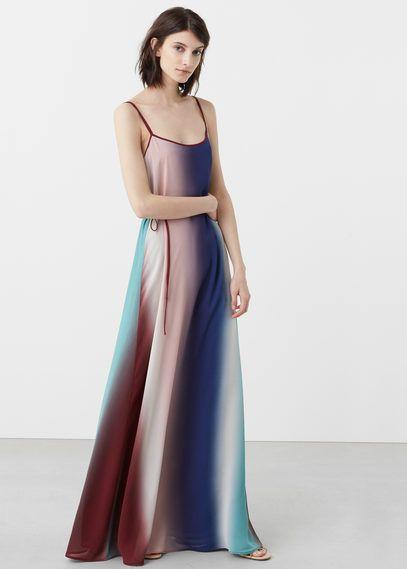 Ombré gown