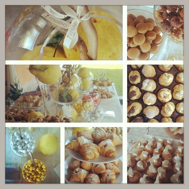 Colazione salata e dolce pre-matrimonio www.chantillyweb.eu