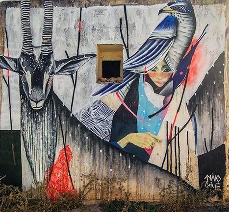 Street art | Mural (Djerba, Tunisia) by TWOONE