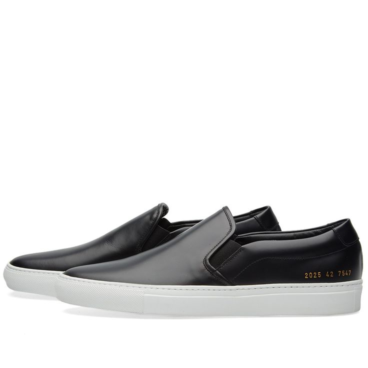 Common Projects Slip On Leather (Black)