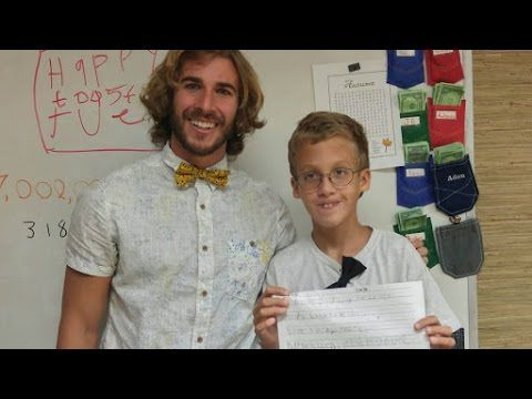Special Education Teacher's Video Goes Viral For All the Right Reasons - YouTube Chris Ulmer