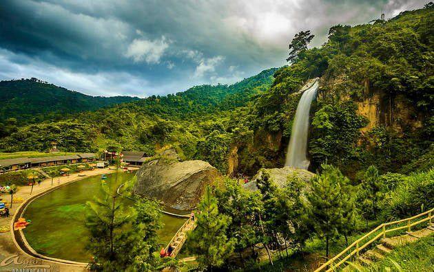 Rekomendasi Tempat Objek Wisata Sentul City Bogor Jawa Barat Curug Bidadari Air Terjun Pemandangan Alam