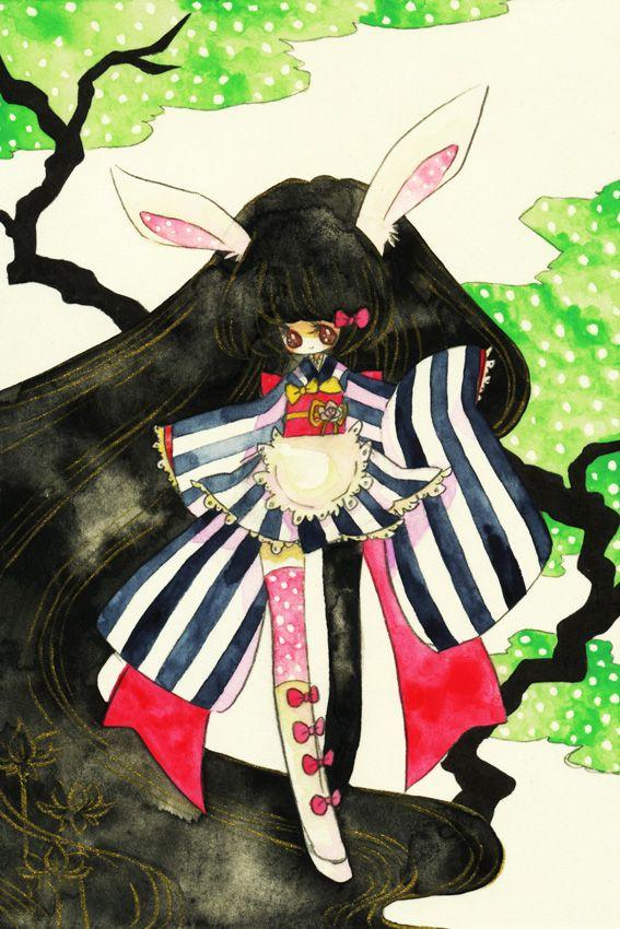 松に兎図 by MitsukaChiru
