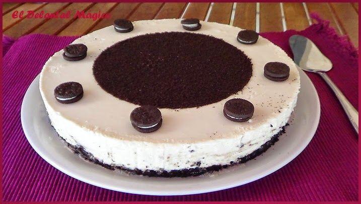 Cheesecake de oreo (sin horno)   http://cocina.facilisimo.com/blogs/recetas-postres/cheesecake-de-oreo-sin-horno_1214702.html?aco=18ar&fba