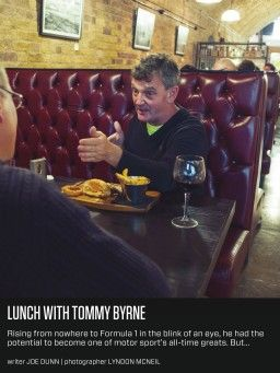 Lunch with Tommy Byrne