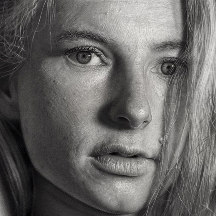 Best Paintings Images On Pinterest Art Faces Artists And - Artist uses pencils to create striking hyper realistic portraits