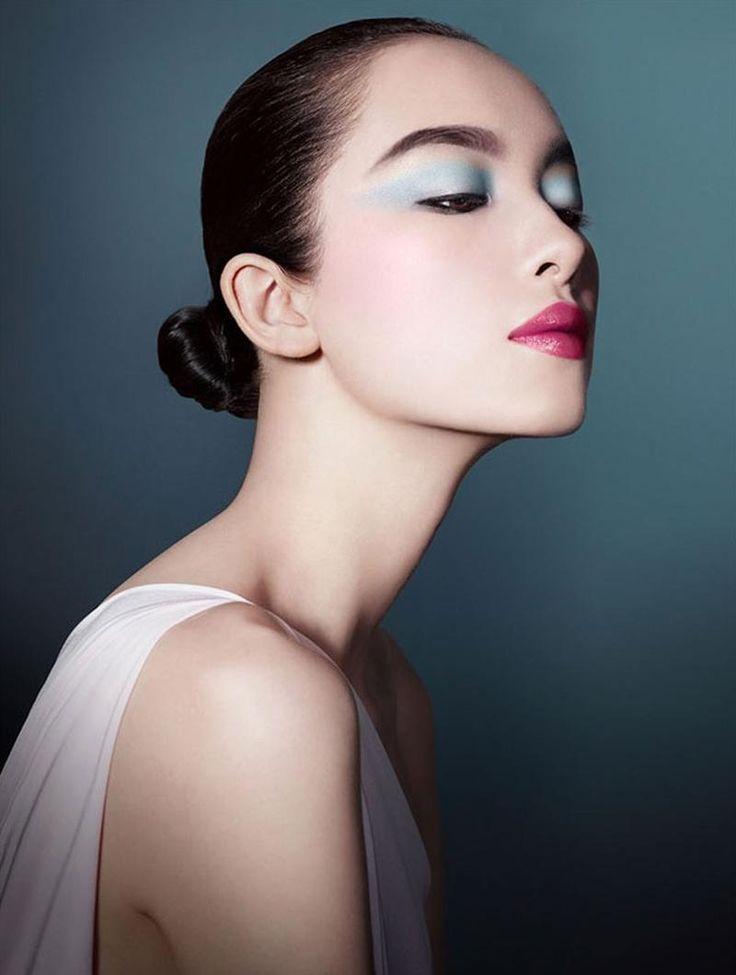 Giorgio Armani - Giorgio Armani Beauty 2013 (S/S 13)  Model: Fei Fei Sun