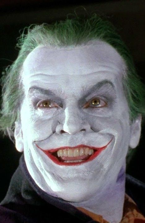 The Joker - reminds me of a picture I saw today-lol