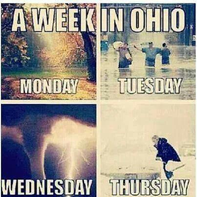 A week in Ohio