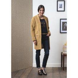 Manteau en bouclette @ LA FEE MARABOUTEE