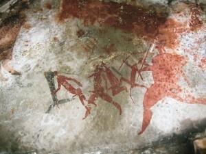 Bushman Cave Art