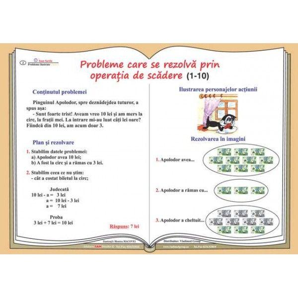 Probleme de matematica ilustrate. Clasele I-IV