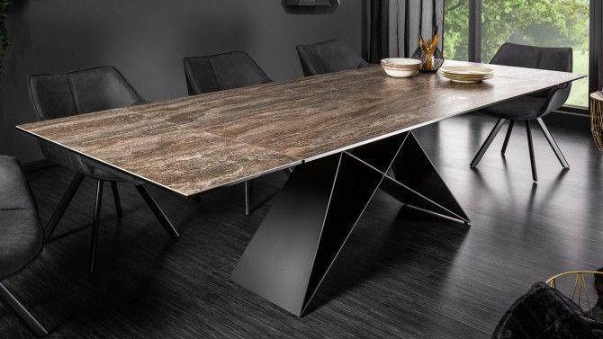 table a diner moderne verre et