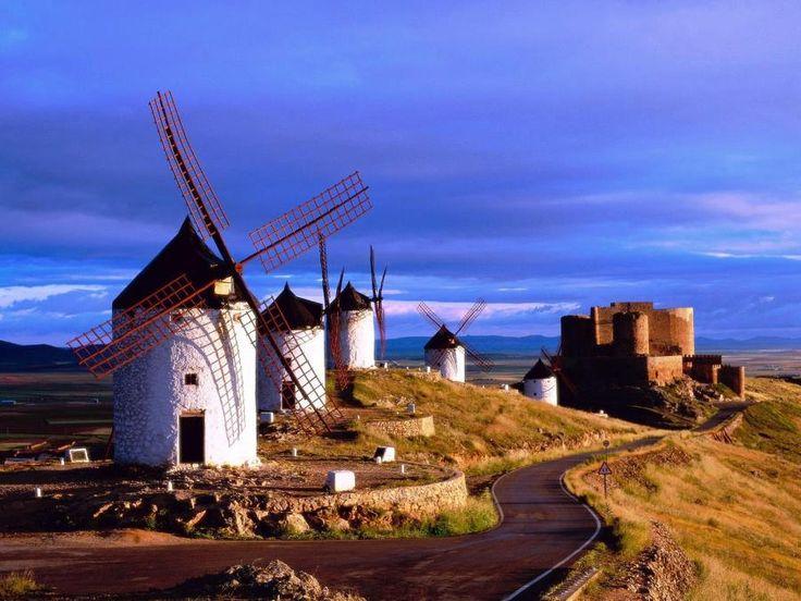 Consuegra, La Mancha, Spain: Lamancha, Favorite Places, Spain, Wallpaper, Travel, Windmills, Spain, Stain