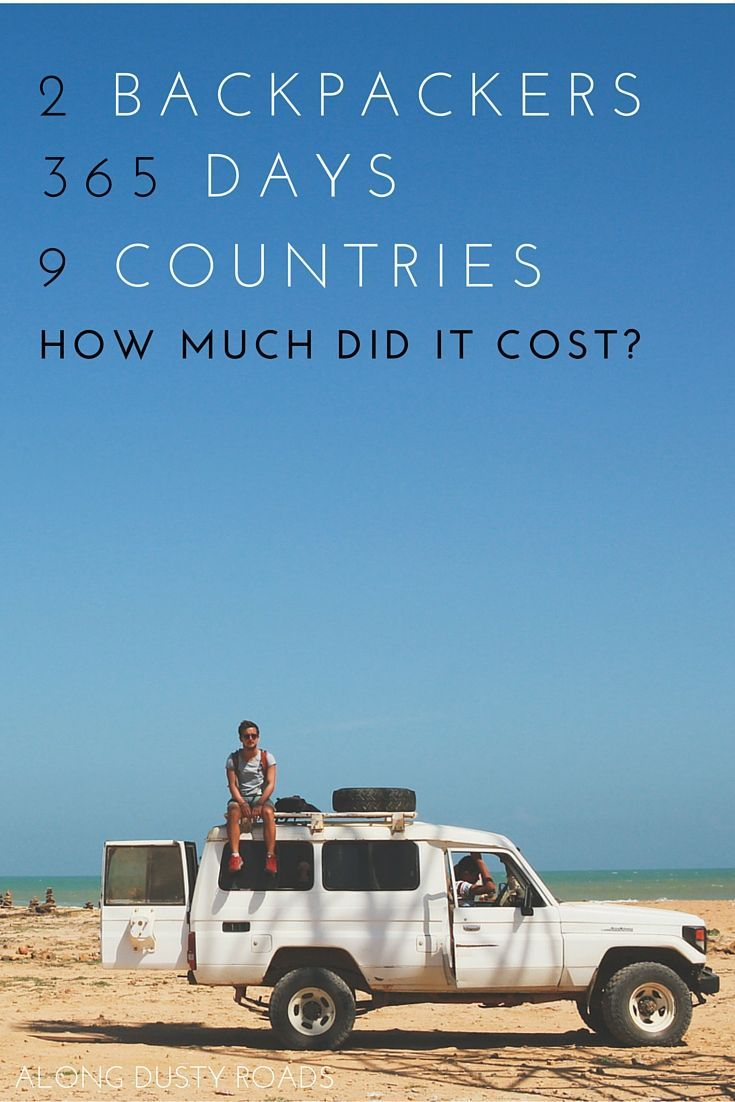 A life of cheap travel - how much did we spend in a year? - Amazing budget travellers in Latin America!