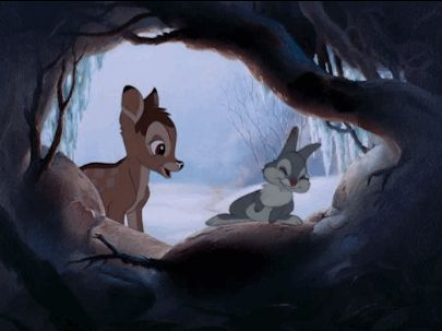 How to be Cute 101 - Bambi & Thumper #Disney #Bambi