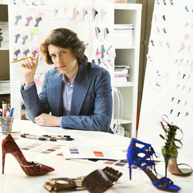 POPSUGAR: Designing shoes is a dream job for many of us. How did you become  a shoe designer? Edgardo Osorio: I was fascinated with design and beauty  from a
