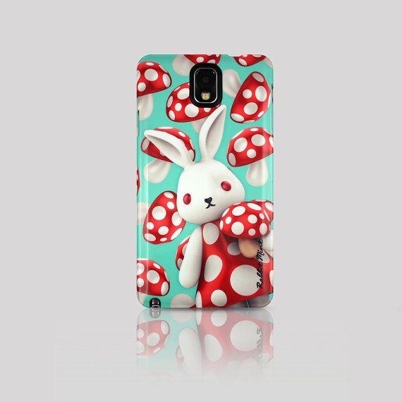 Samsung Galaxy Note 3 Case  Merry Boo Mushroom M0005 by rabbitmint