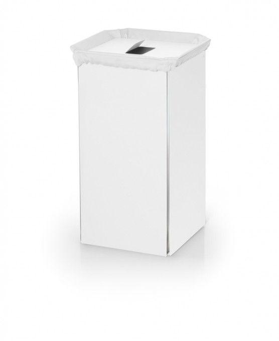 #Lineabeta #Bandoni #Wäschebehälter 53443.09 | #Modern #Aluminium | im Angebot auf #bad39.de 180 Euro/Stk. | #Italien #Bad #Accessoires #Badezimmer #Einrichtung #Ideen #Gadgets