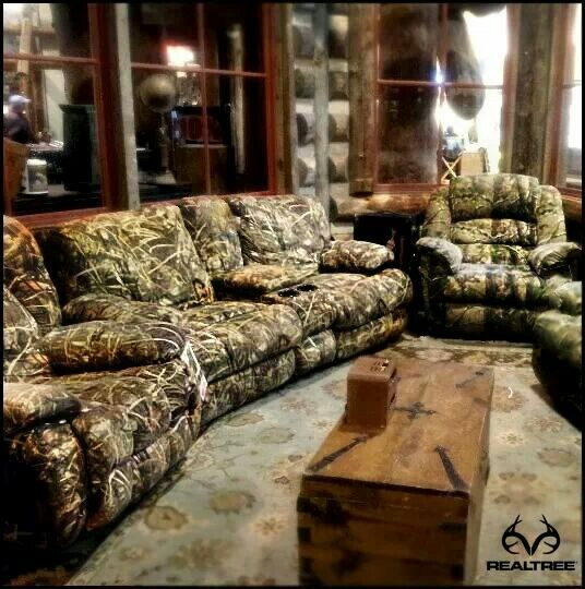 Realtree Camo Couch   For My Manu0027s Camo Game Room Lol ~SheWolf☆ Part 31