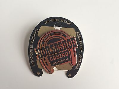HORSESHOE CASINO BOSSIER CITY LA Metal Enamel PIN Father's Day Gift