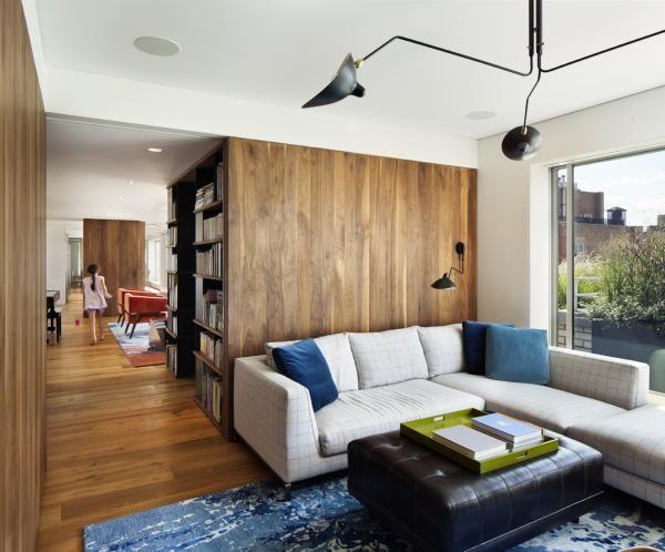 プロジェクト:セントラルパークペントハウス - ロバート·ヤングアーキテクト
