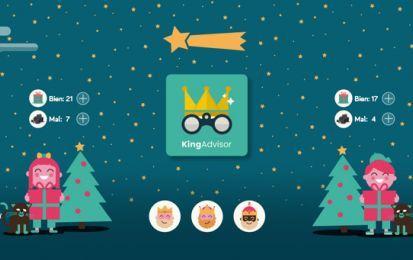 KingAdvisor: La App de los Reyes Magos - Evalúa el comportamiento de tus hijos con KingAdvisor, la app que utilizan los Reyes Magos para saber si los niños merecen regalos o carbón.