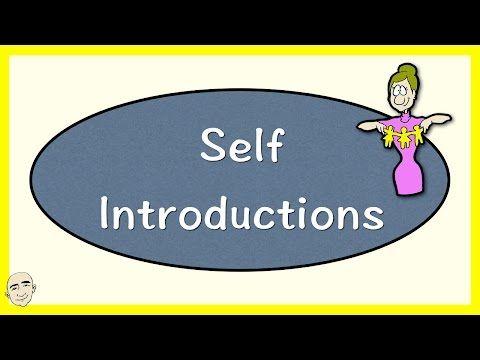 Self-Introduction | Basic English Conversation Practice | ESL | EFL - YouTube