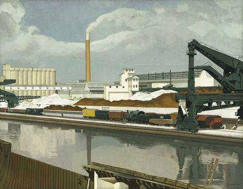 Charles Sheeler. American Landscape. 1930