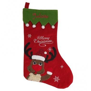 Cadeau malin: Botte de Noël renne