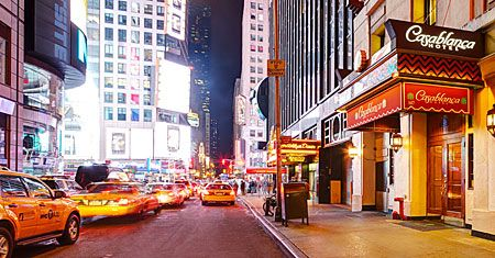 Casablanca Hotel in Times Square (Photo: Courtesy of the Casablanca Hotel)