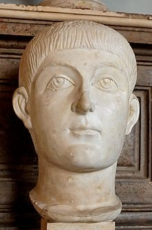 Valens was co-emperor with his brother Valentian I (and later co-emperor with other members of the Theodosian Dynasty). Emperor of the East from 364, his reign was constant battle against the Persians and the Goths. He was killed at or immediately after the Battle of Adrianople against the Goths in 378.