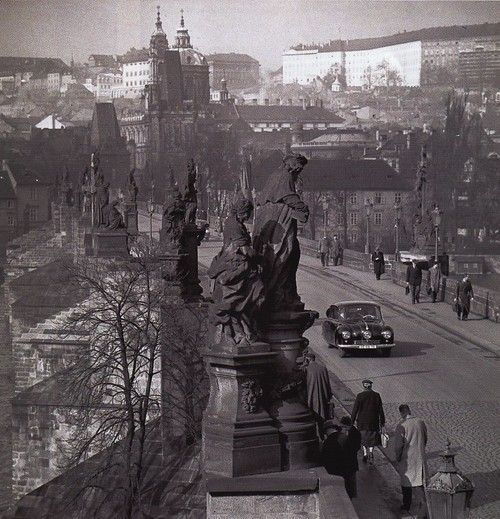 Charles Bridge, Prague circa1950's