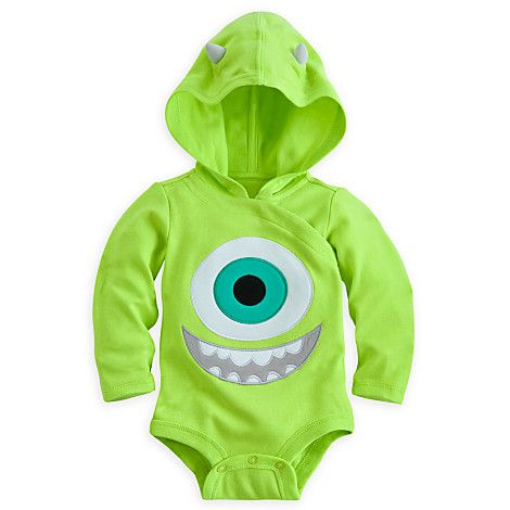 Disney Cuddly Bodysuit Costume for Baby My little monster!!! Baby boy onesie from Monster's Inc.