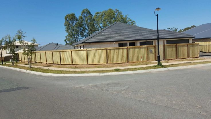 DECORATIVE TIMBER FENCE  BY NORTHSIDE FENCING