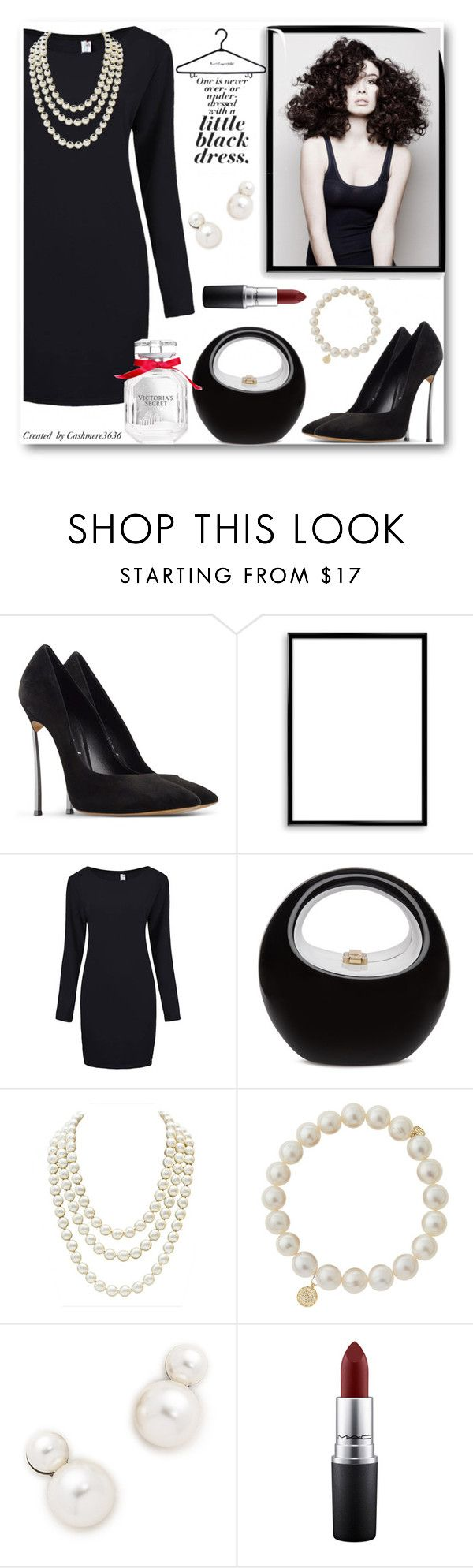 """""""Little Black Dress"""" by cashmere3636 ❤ liked on Polyvore featuring Casadei, Angelo, Bomedo, Chanel, Sydney Evan, Auden, MAC Cosmetics and Victoria's Secret"""
