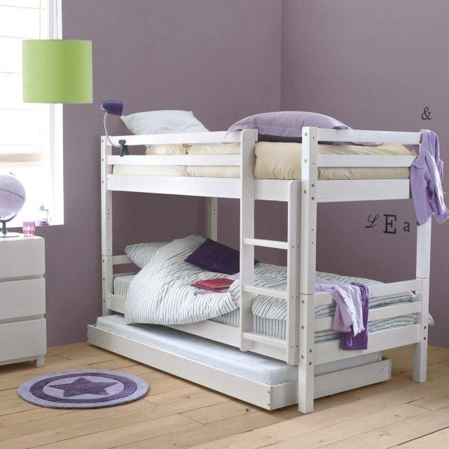 1000 id es sur le th me lits jumeaux sur pinterest lits ensembles de liter - Lits superposes pin massif ...