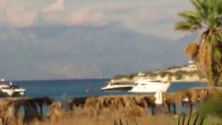 Blake 3 playing chese ! Izmir 2015. Beach in the back ground.