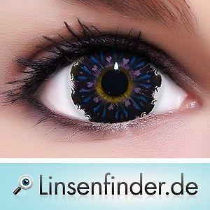 Lenti-a-Contatto-Colorate Circle Lenses-034-fishing-Violet-034-FREE-Contenitore