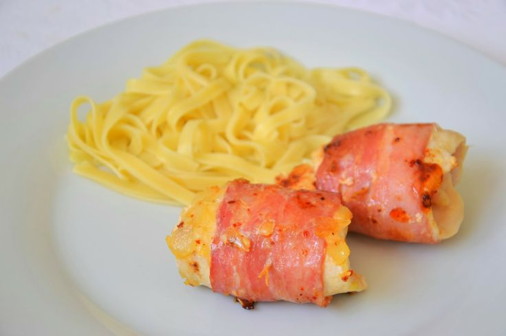 Chicken Breasts with Bacon and Cheese