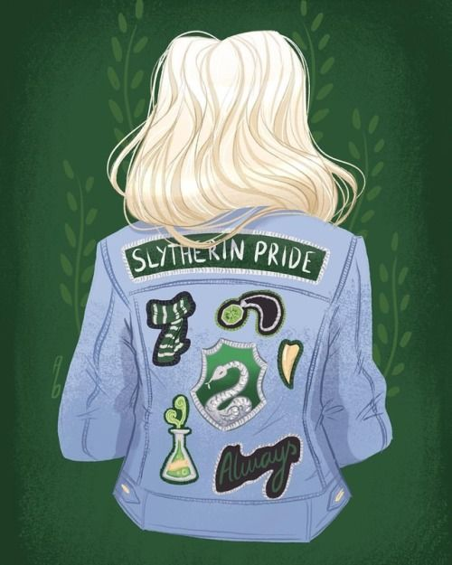 Slytherins! Hope ya like this. And yes I know that's 2 blondes in a row, but the colours just worked the best so deal haha, and also, white blonde seemed super appropriate . . (here you go @zepheenia ) . . . . . #slytherin #slytherinpride...