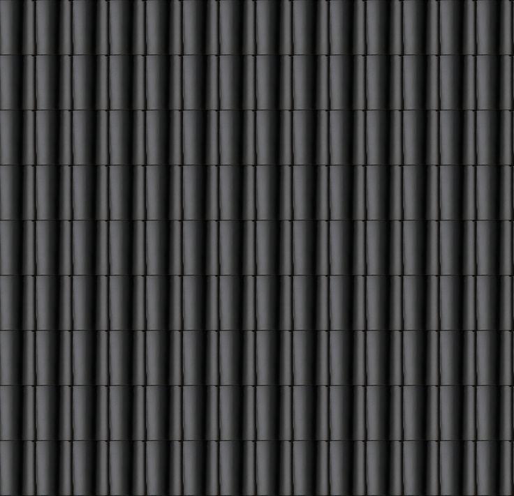 Koramic JD dakpan OVH zwart satinet