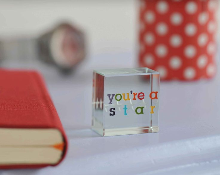 Suitable as an award at work, or simply to tell someone how great they are. This token makes a fun and playful gift. #token #friendship #gift #Spaceform #London