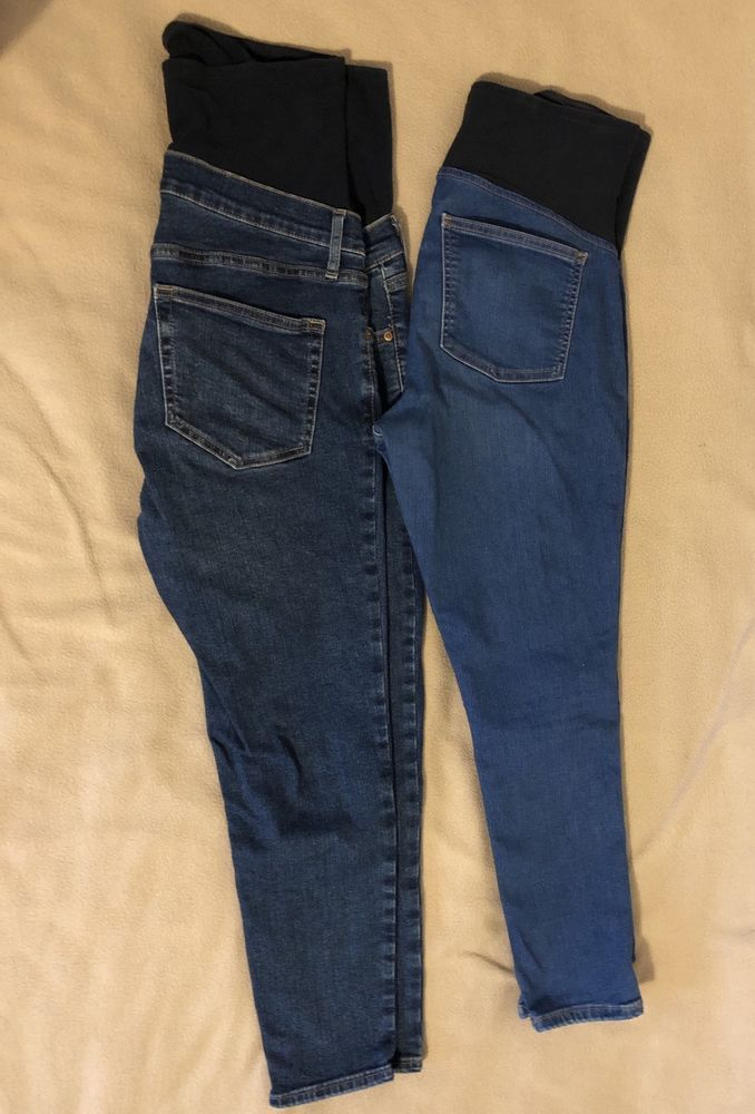 2f4a285475cb1 Topshop Maternity Jeans Bundle x2. Over Bump. Size 12 Cropped #fashion # clothing #shoes #accessories #womensclothing #maternity (ebay link)