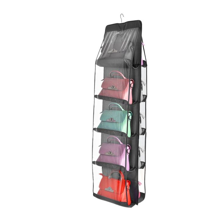 TOP MAX 10 Pockets Pouch Hanging Handbag Organizer Clear Purse Bag  Collection Storage Holder Wardrobe. 17 best ideas about Bedroom Cupboards on Pinterest   Shoe cupboard