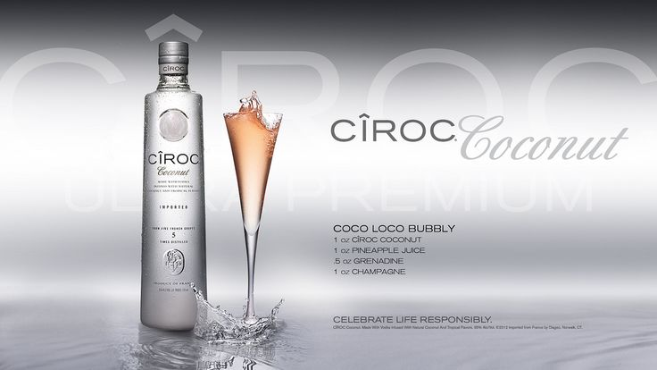 ciroc mixed drink recipes | EthnoNightlife.com | OPEN BAR | CIROC MIXED DRINK RECIPES