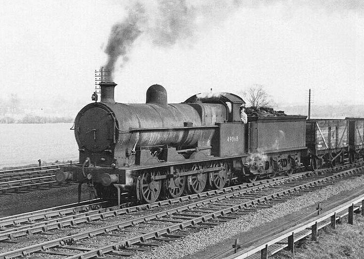 BR (LMS) (LNWR)  Bowen-Cooke G1 class  0-8-0
