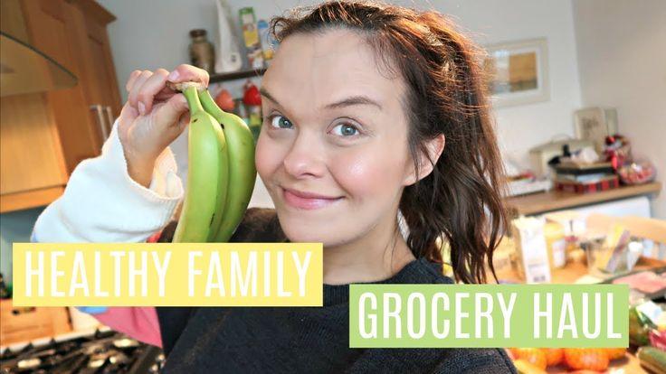 HEALTHY FOOD SHOP - TESCO GROCERY HAUL - FAMILY MEAL PLAN - JANUARY 2018
