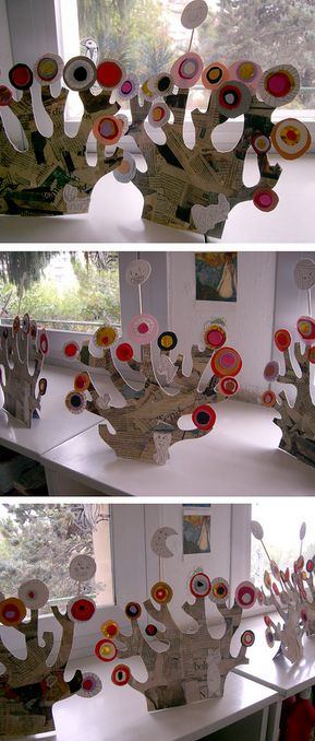 Kandinsky tree craft - a fabulous masterpiece in its own right! As you know we are big fans of upcycling at Fun Crafts Kids and anything that can divert a bit of old newspaper from the bin is fine by…